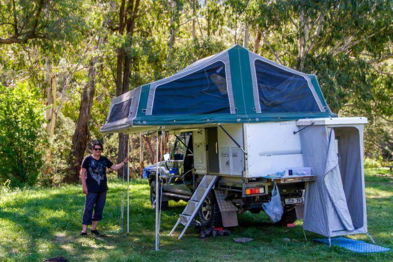 Talbotville Campground Crooked River Track Victorian High Country