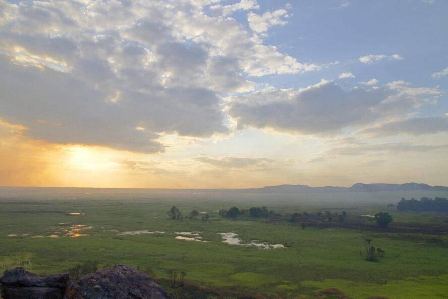 Nardab floodplains and into Arnhem Land escarpments - Kakadu National Park