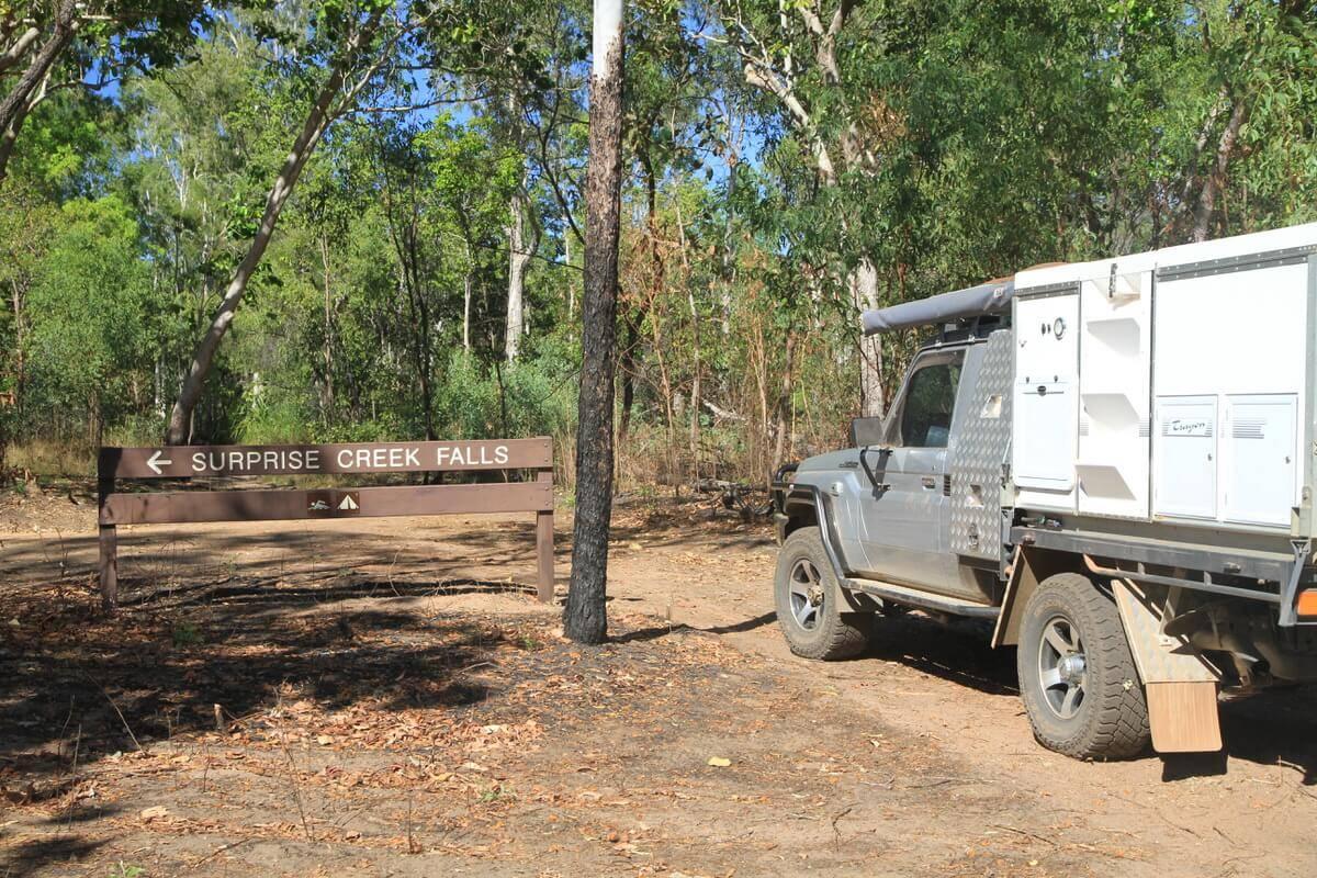Surprise Creek Falls Litchfield National Park Northern Territory. Just near Prospect hill.