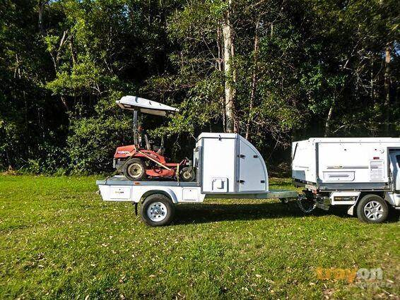trayon TMO off road trailer load