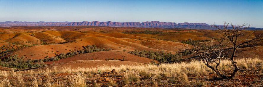 Flinders Ranges National Park - 4WD Camping Guide Panorama