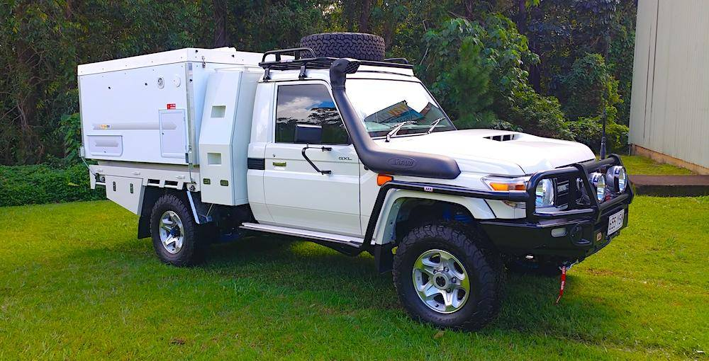 Trayon Gullwing Landcruiser - 4x4 Expedition Vehicle In Australia