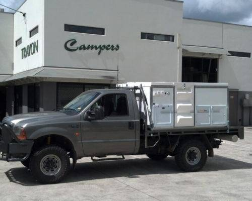 Ford F250 Single Cab Trayon Camper - Truck Bed Camper
