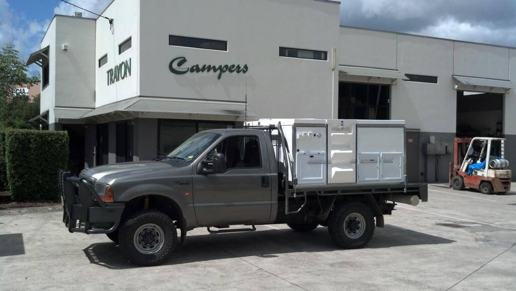 Single Cab Ford F250 Tray Back Ute Gallery Trayon Campers