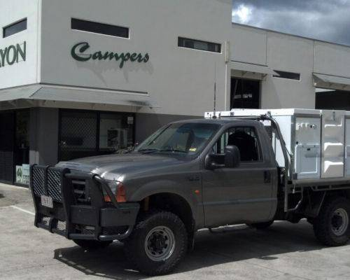 Ford F250 Single Cab Trayon Camper - Truck Bed Camper 5