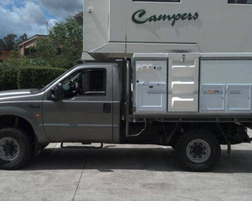Ford F250 Single Cab Trayon Camper - Truck Bed Camper 6