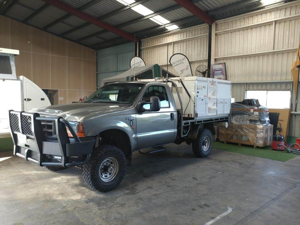 Ford F250 Single Cab Trayon Camper - Truck Bed Camper 9