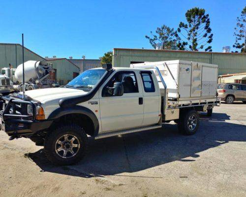 Ford F250 Super Cab Tray Back Camper Trayon Campers