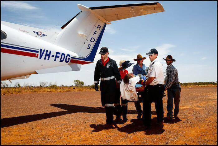 Royal Flying Doctors Service - Mt Isa