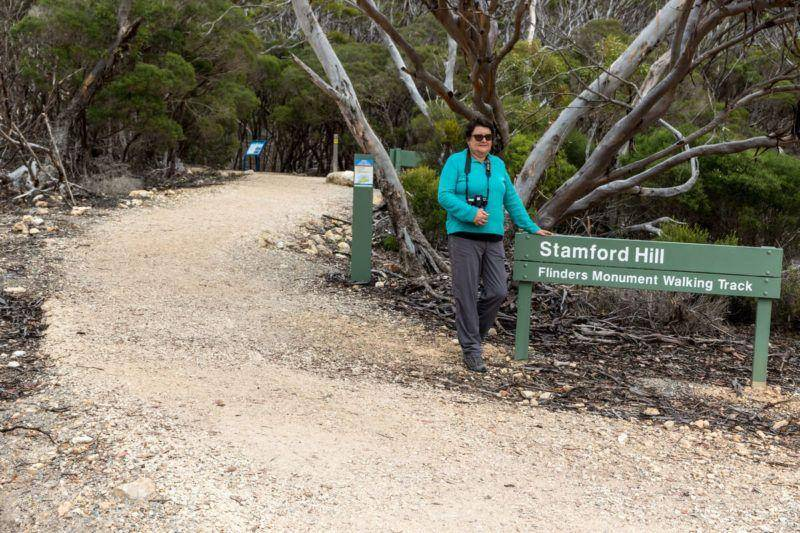Stamford Hill - Lincoln National Park. Flinders Monument Walking Track - Eyre Peninsula