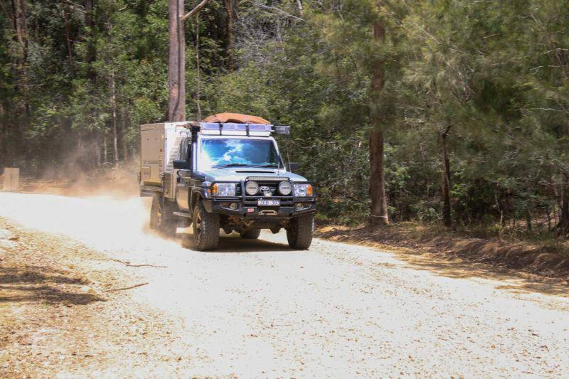 NSW North Coast 4WD Camping Guide - Pebbly Beach