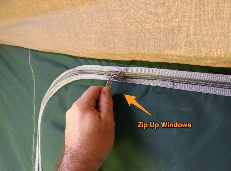 zip up windows
