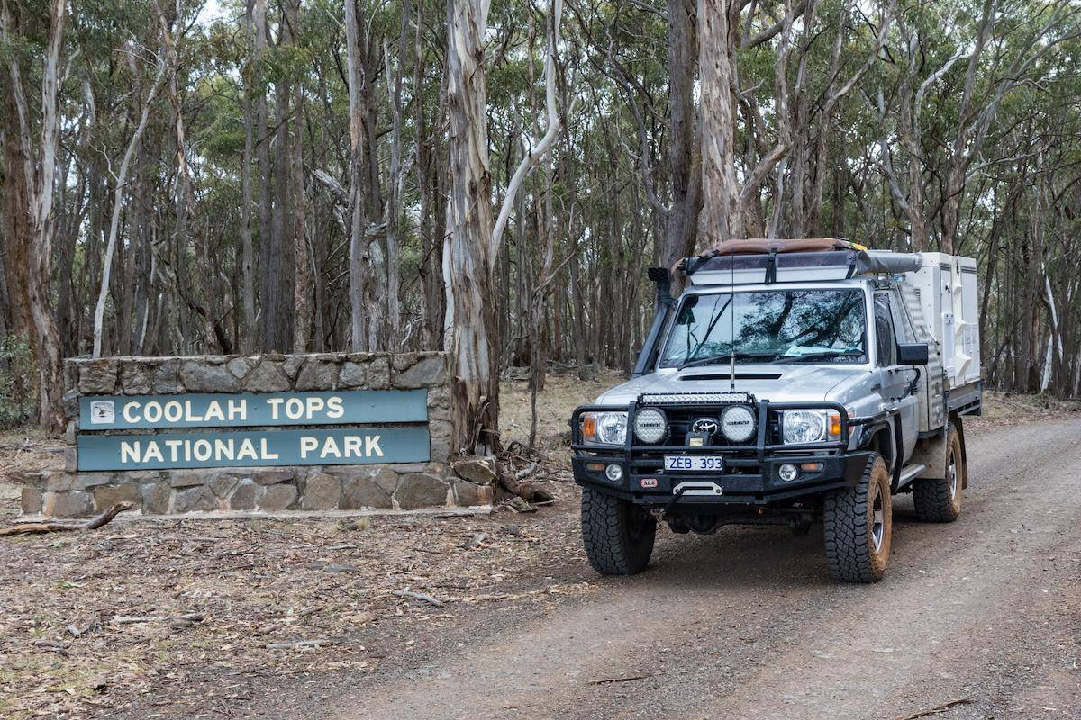 Coolah Tops National Park Camping Guide - Landcruiser 79 Series Trayon Campers