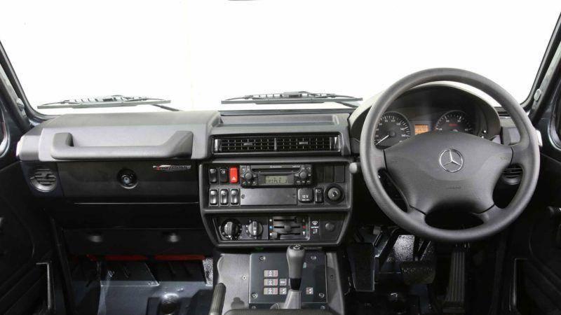 Mercedes G Professional Interior