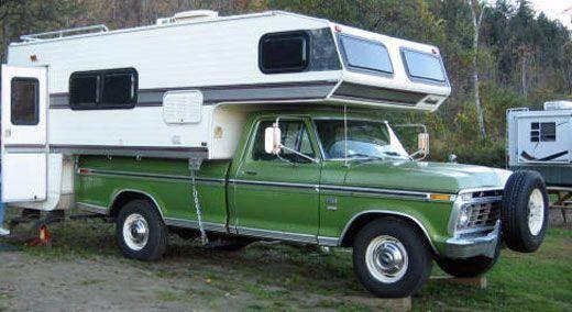 what is a slide on camper slide in camper