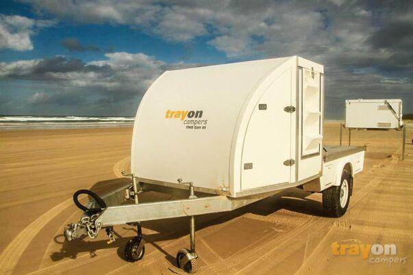 trayon TMO off road trailer nose cone extra storage
