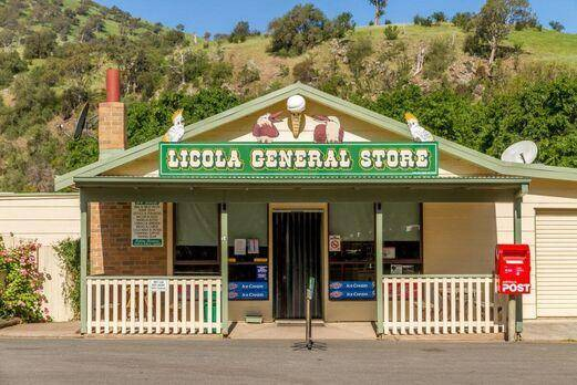 Start of Trip - Licola General Store Victorian High Country