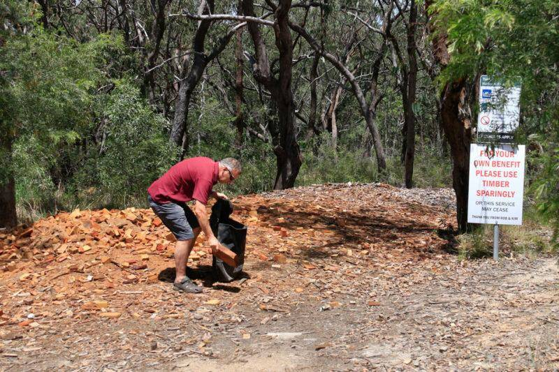 NSW North Coast 4WD Camping Guide Firewood