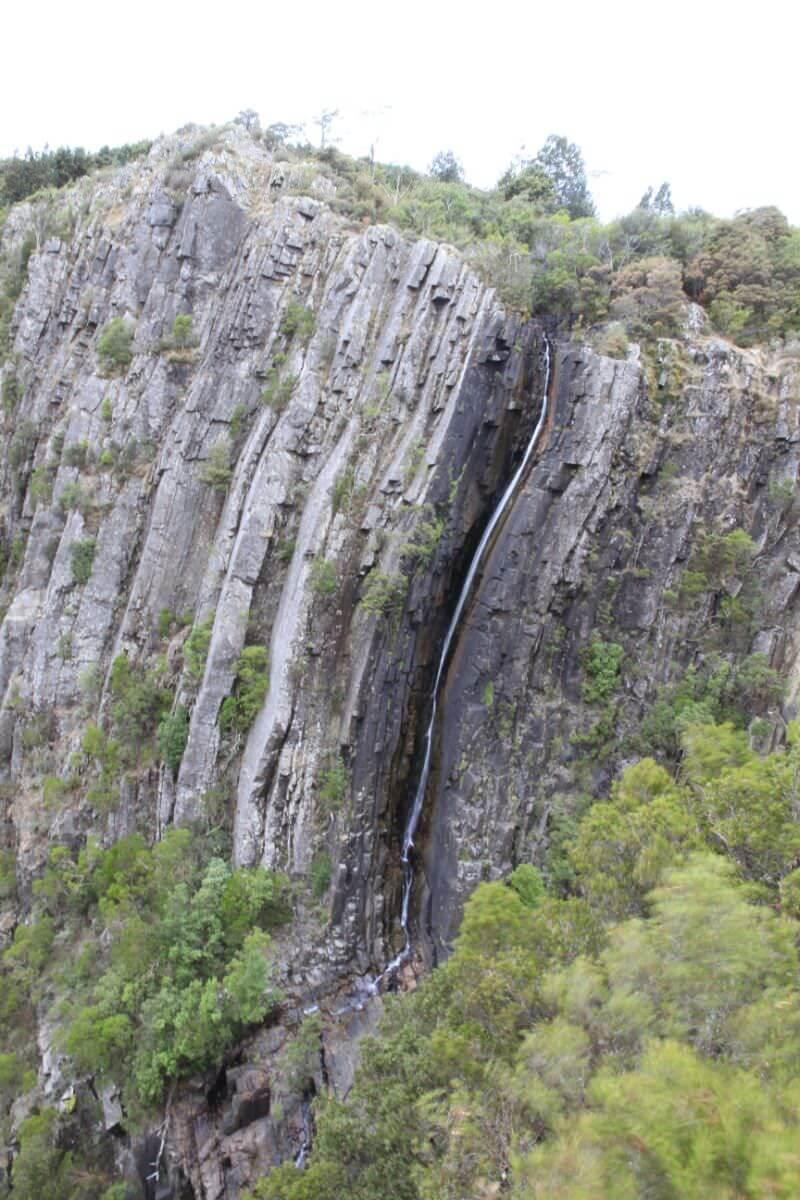 Ralph Falls cascading tasmania's east coast.