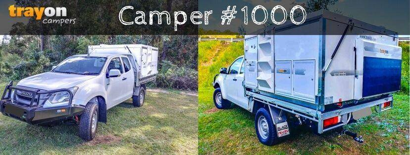 Trayon Campers - Slide on Camper #1000