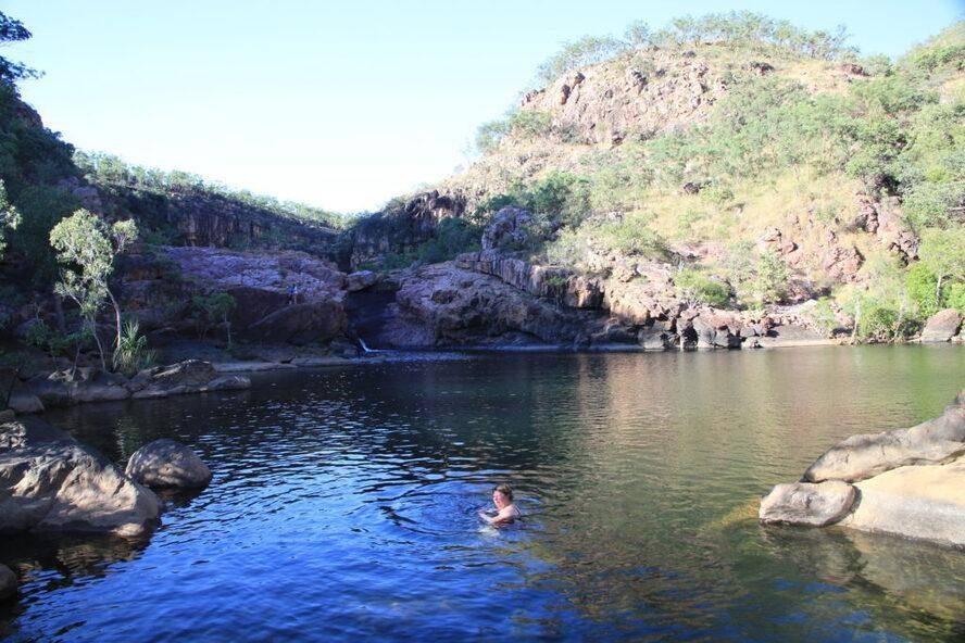Koolpin Gorge creek - Kakadu National Park Permit Only
