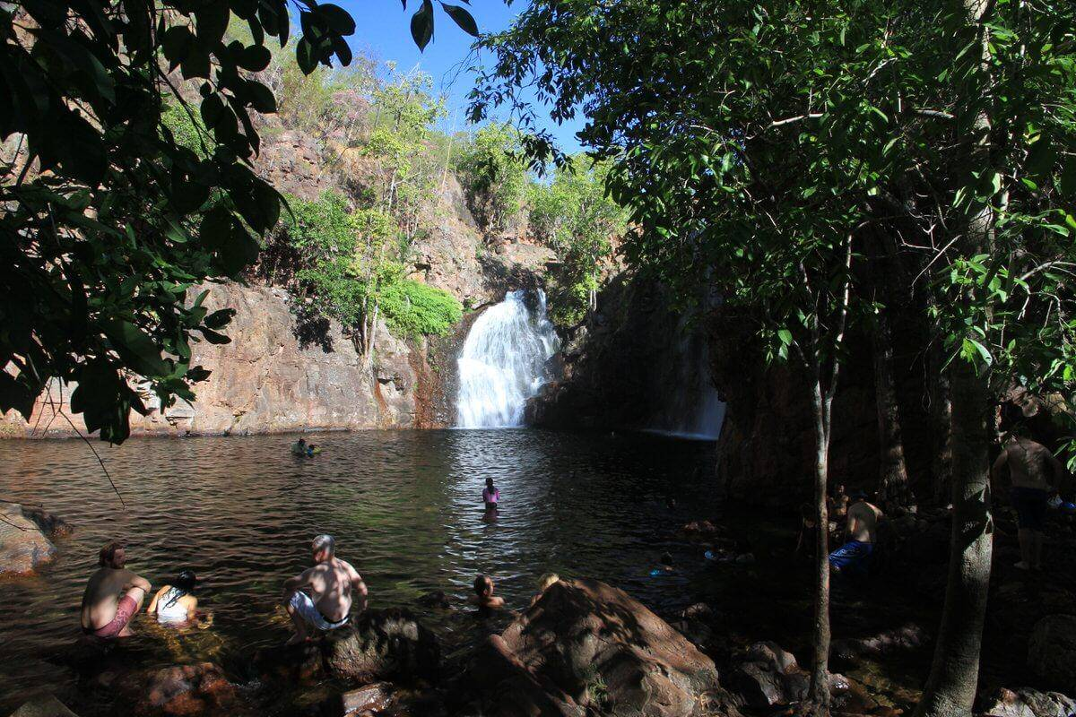 Florence Falls - Litchfield National Park Northern Territory
