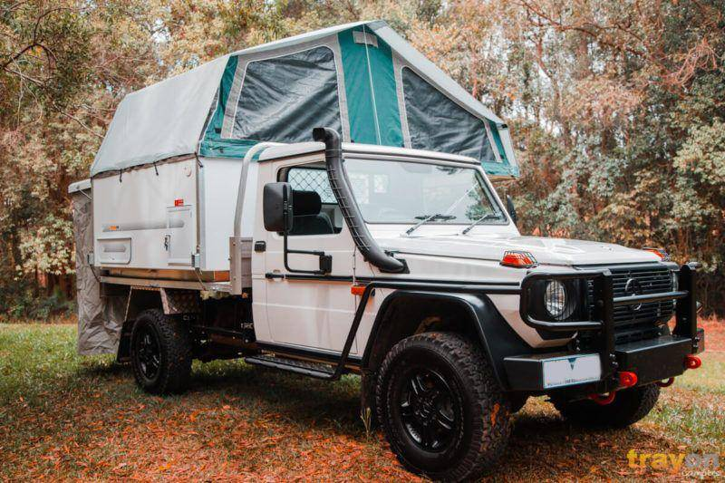 Mercedes G-Professional Ute G300 with Trayon Slide on Camper