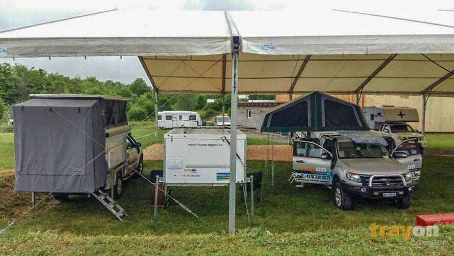 slide on camper manufacturer Trayon europe stand Abenteuer & Allrad