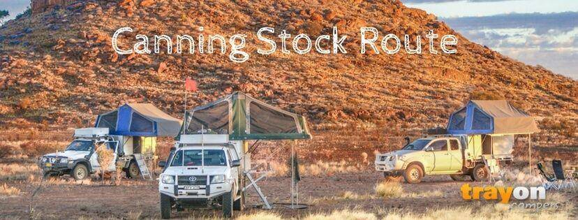 Trayon campers - Canning Stock Route