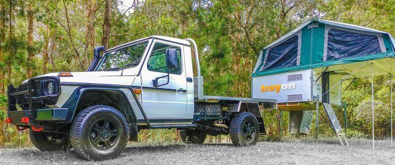 Mercedes Benz G Professional Slide on Camper Trayon Campers