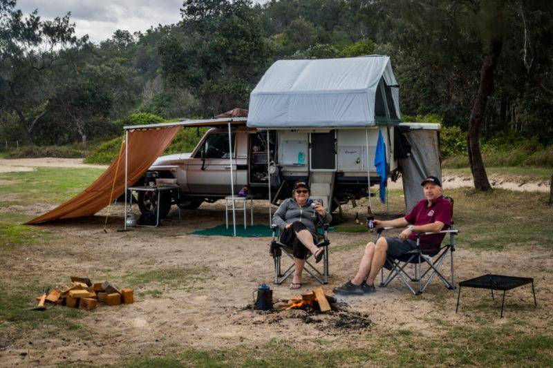 NSW North Coast 4WD Camping Guide Pebbly Beach Campground