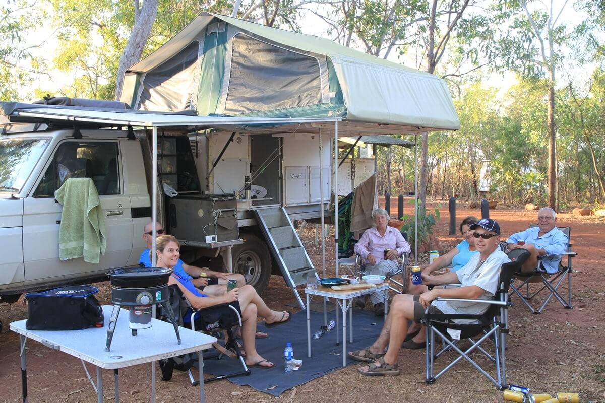 Florence Falls Campground - Litchfield National Park Northern Territory
