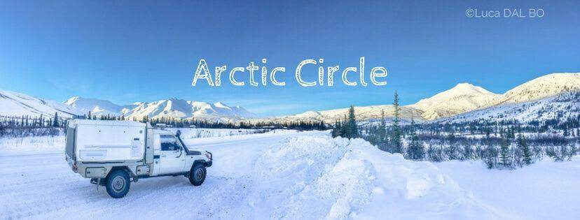 Trayon International Travel Photos - Slide on camper in Arctic Circle