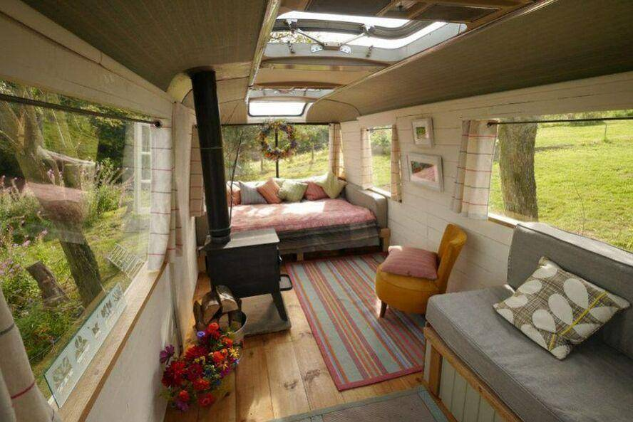 Vintage Luxury Camper - Majestic bus