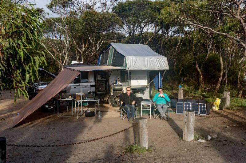 Memory Cove Wilderness Area - Lincoln National Park Campground - Eyre Peninsula