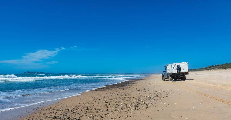 Beach Permits & Driving - Crowdy Bay National Park, NSW