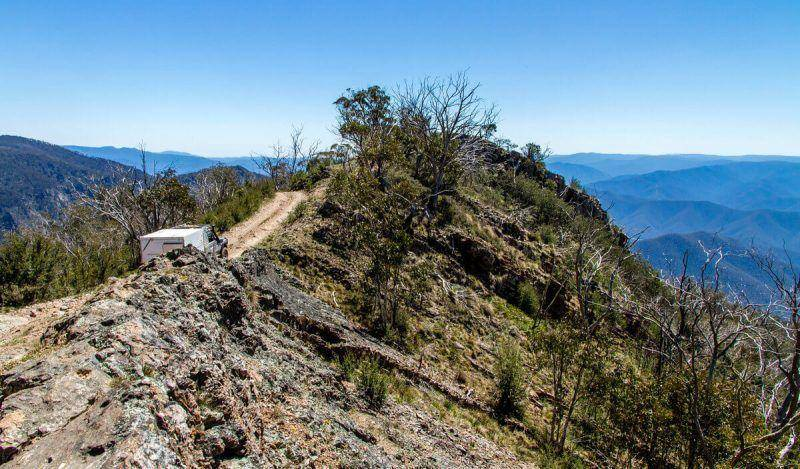 Billy Goats Bluff 4WD Track - Victorian High Country