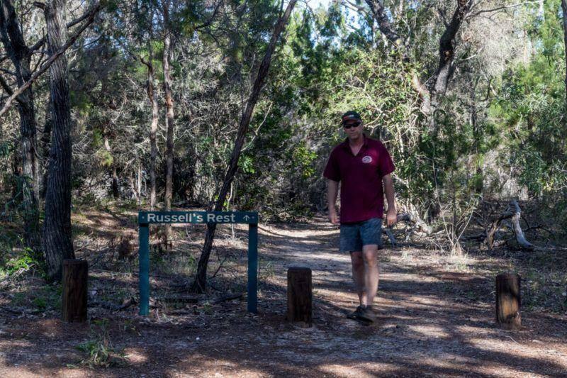 Burrum Coast National Park - Walk Russel's Rest