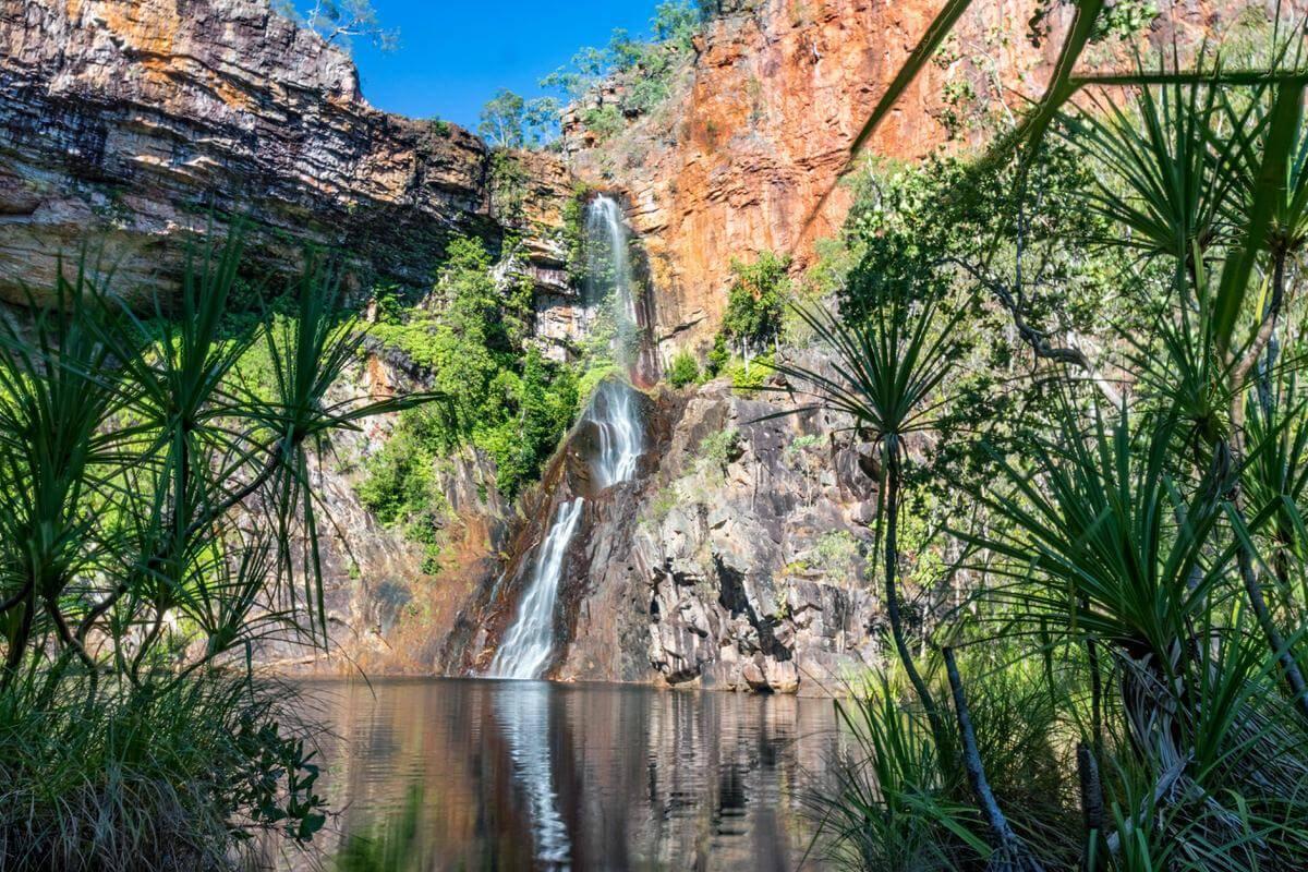 Sandy Creek (Tjaynera) Falls - Litchfield National Park Northern Territory NT