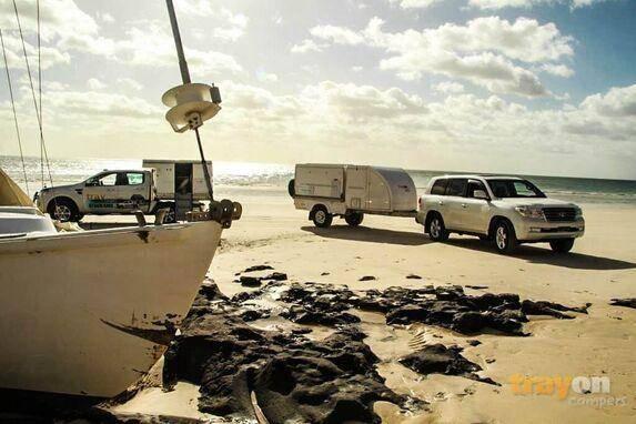 trayon TMO off road trailer fraiser island