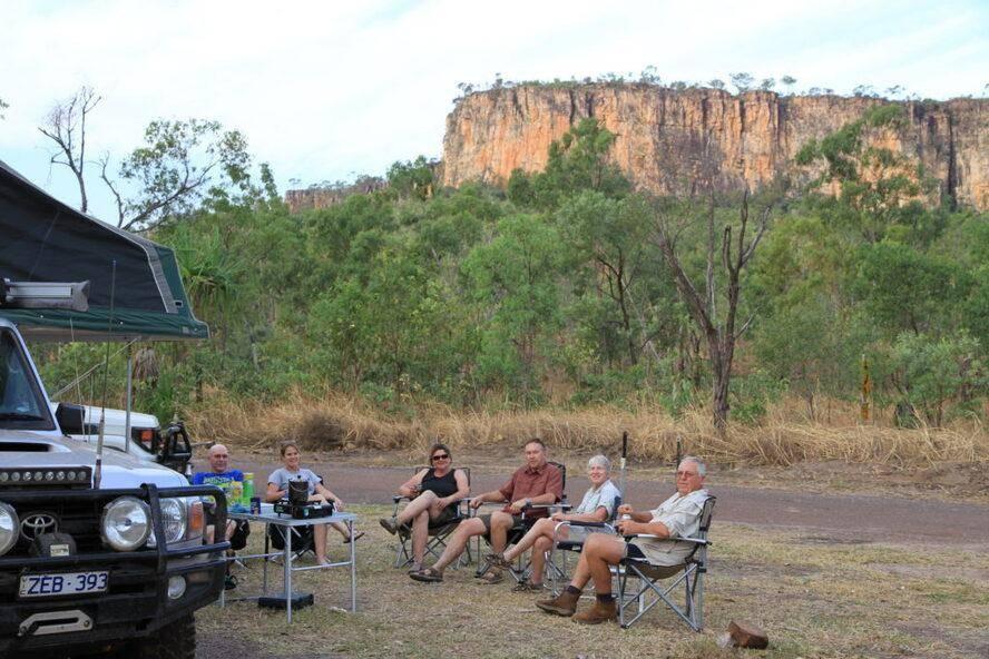 Jim Jim campground -  Kakadu National Park Friends Relaxing