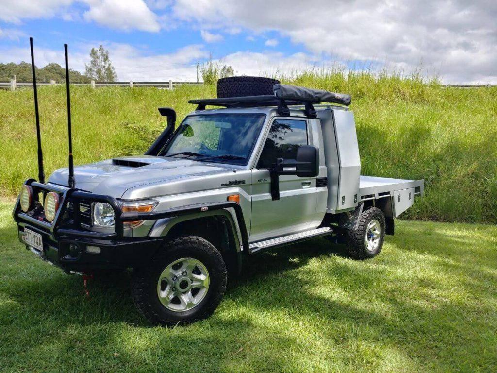 4x4 Expedition Vehicle - Custom Gullwing Toyota Landcruiser 79 Series
