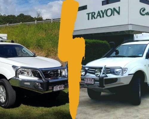 Nissan Navara vs Mitsubishi Triton Trayon Campers