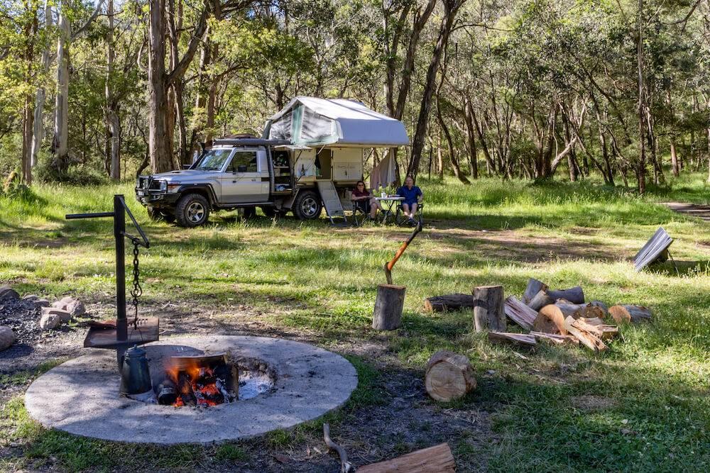 Victoria High Country Campsite