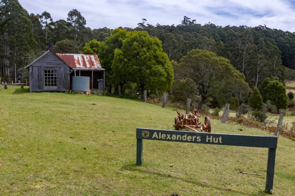 South East National Park NSW Alexanders Hut