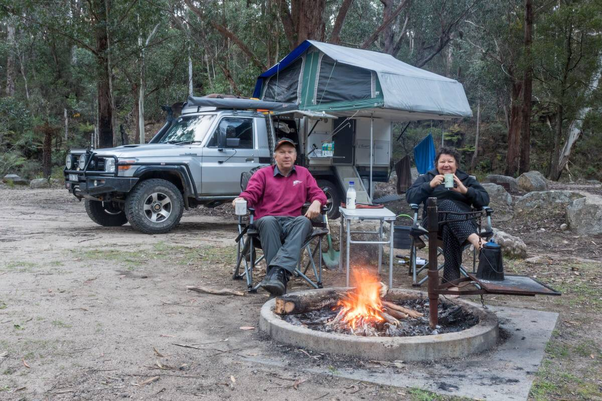 South East National Park NSW Postsman's Camping Area