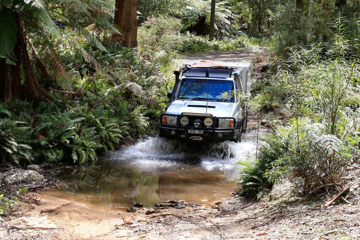 Six Mile Creek NSW South East National Park Camping