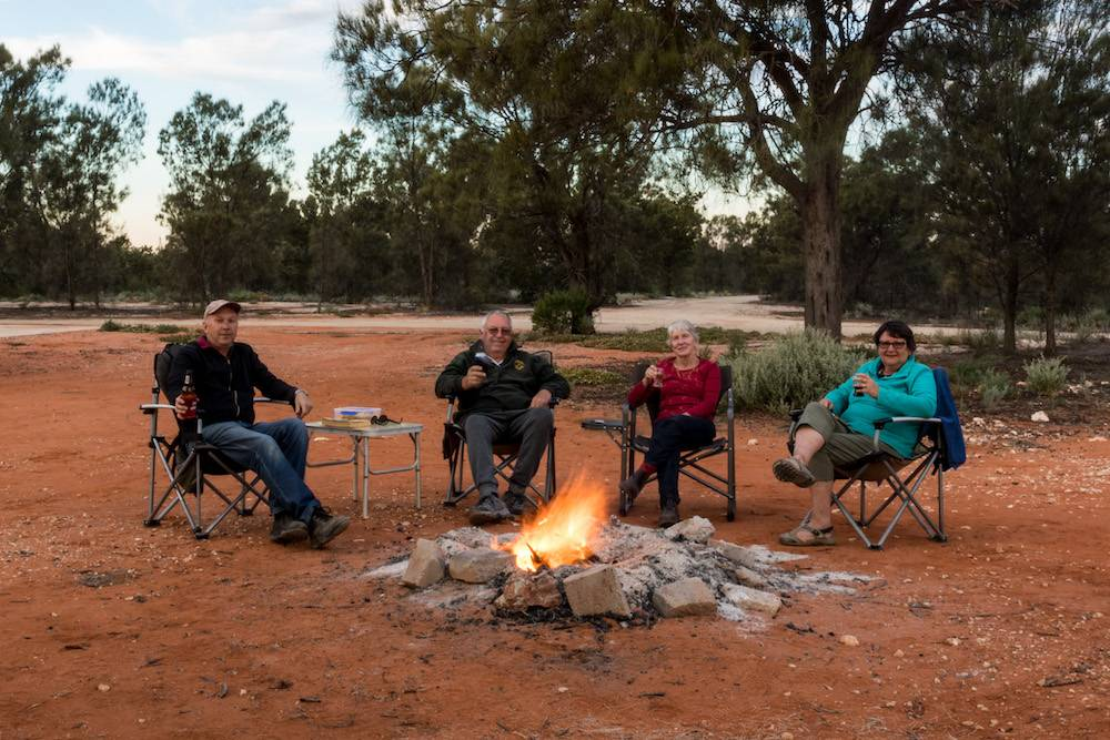 Maralinga Tours Friends Camping