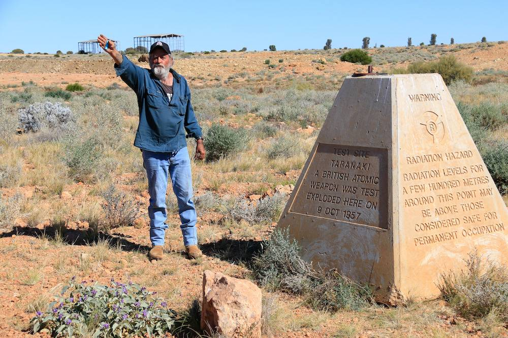Maralinga Tours Monument