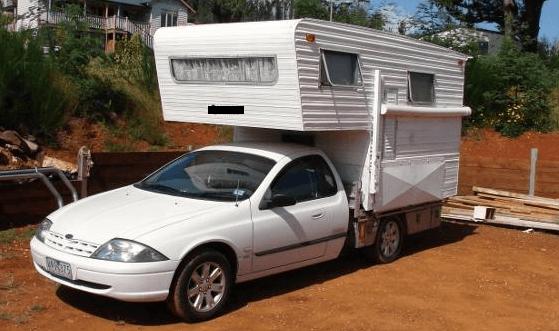 old class 3 slide on - caravan style
